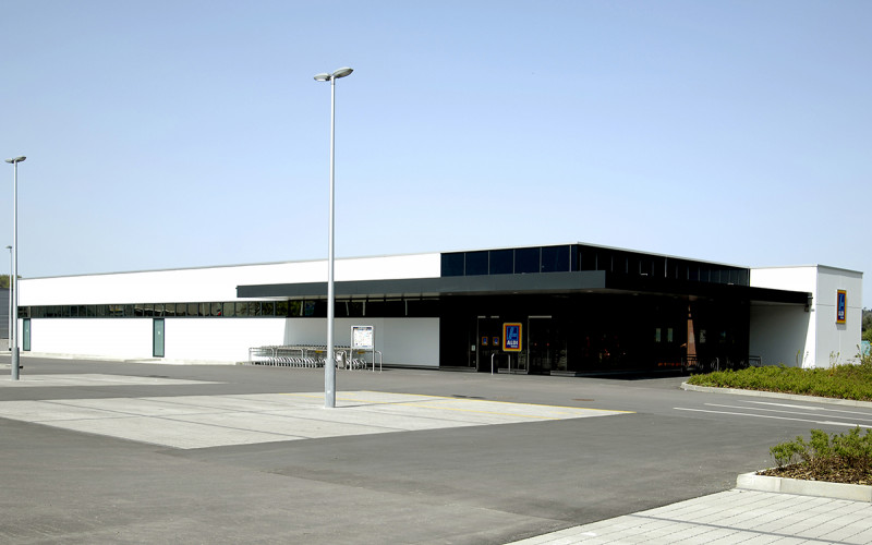 Neubau ALDI Suisse Filiale Aesch