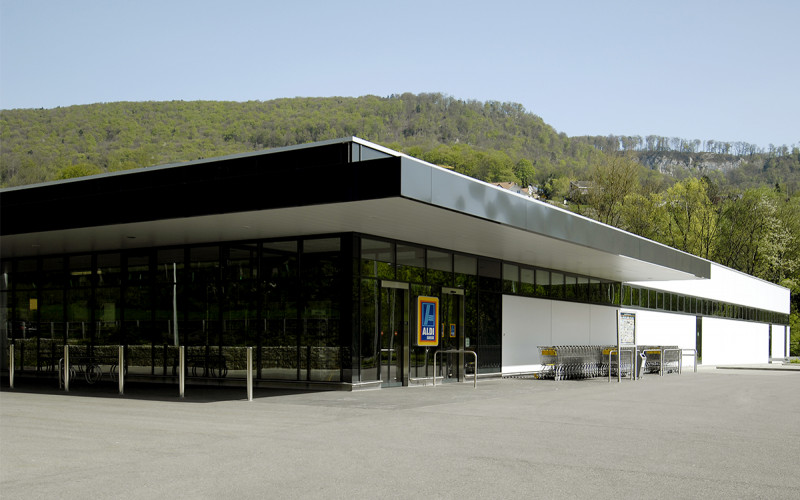 Neubau ALDI Suisse Filiale Duggingen
