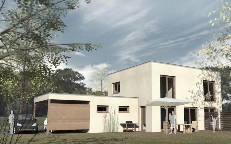 Entwurf Wohnhaus