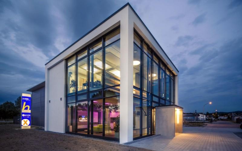 Neubau Firmengebäude Huber Gebäudetechnik