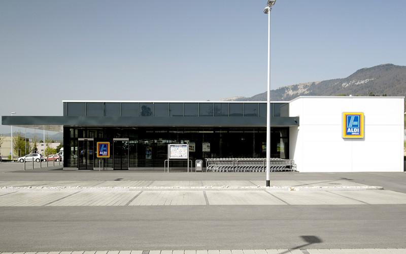 Neubau ALDI Suisse Filiale Langendorf
