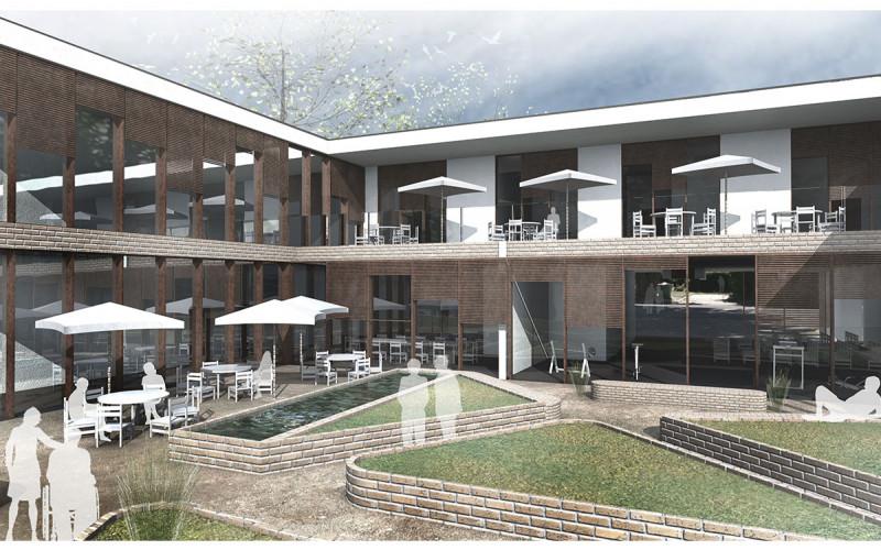 Wettbewerb für ein Wohnheim Durbach Ebersweier