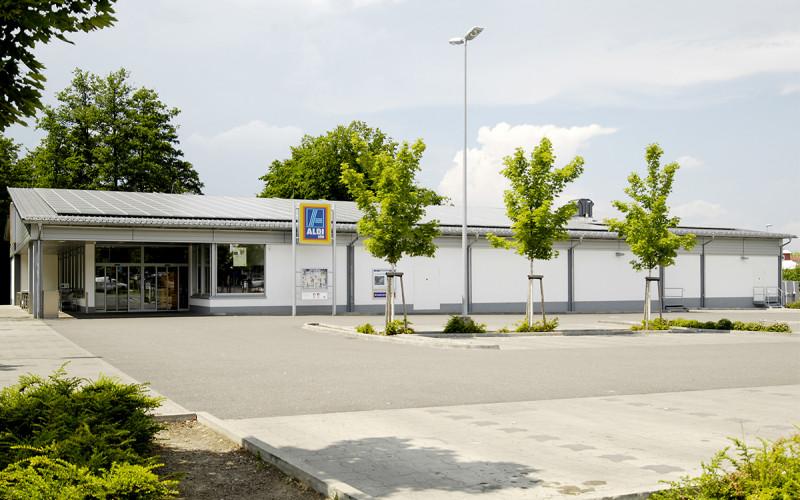 Neubau ALDI Filiale in Merzhausen