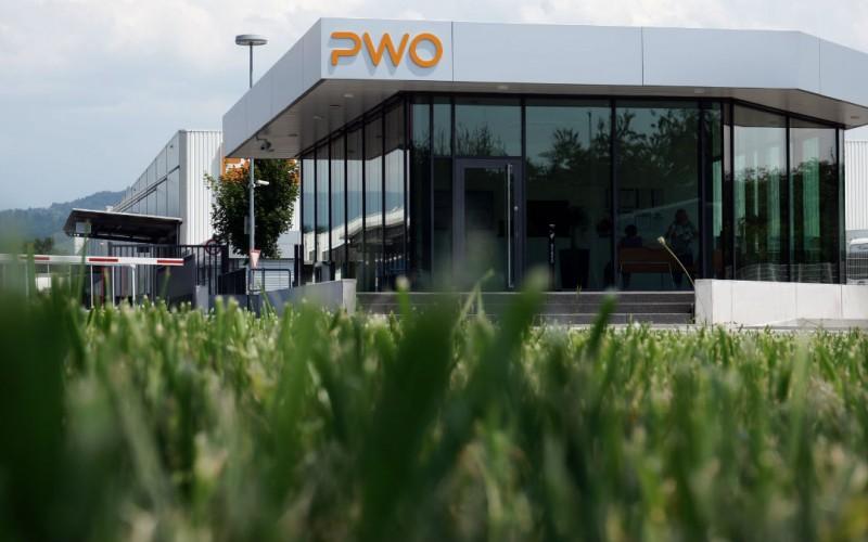 Neubau Pforte PWO AG